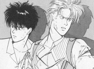 Eiji and Ash in action