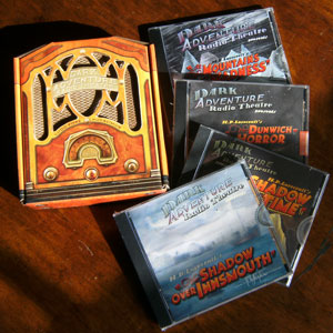 Dark Adventure Radio Theatre CD case