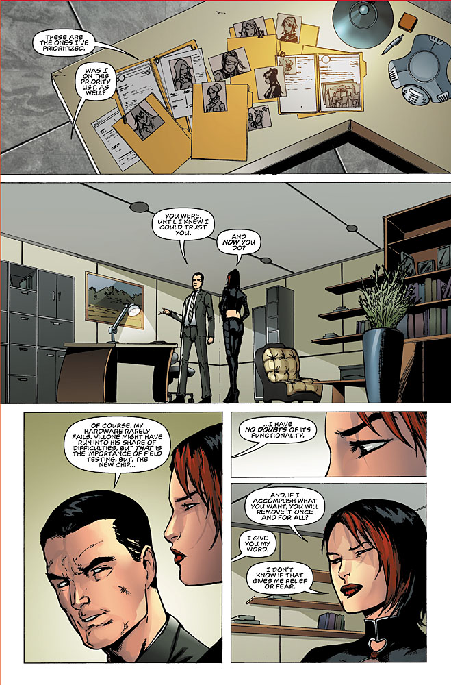 Executive Assistant Assassins #7 page 4