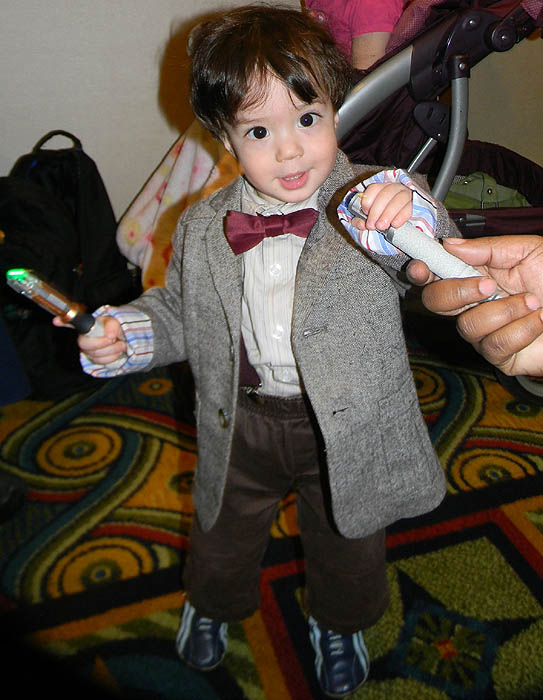 I saw many a wee one who had been dressed up by his or her parents but this baby Eleventh Doctor was too adorable for words!  sc 1 st  The Geek Girl Project & LA Geek: Gallifrey One Costume Review | The Geek Girl Project