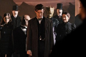 The Doctor's friends in the Name of the Doctor