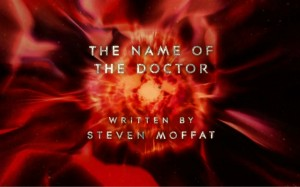 The Name of the Doctor End Title