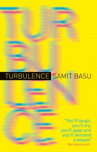 Turbulence by samit basu cover