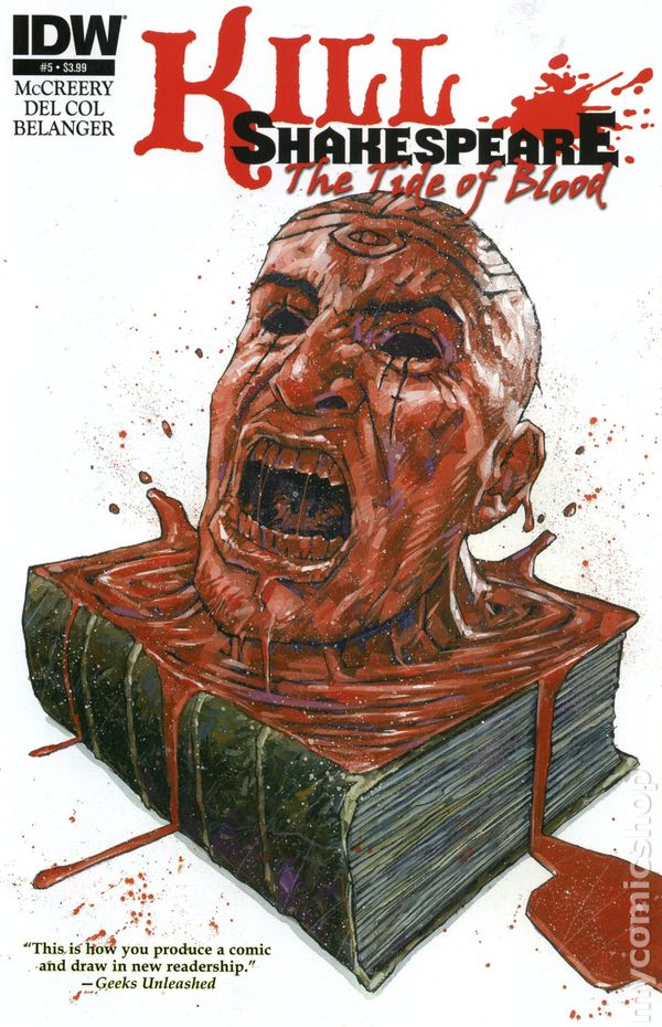 Kill Shakespeare Tide of Blood 5 Mcreery Del Col Belanger