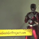 Cosplay: The Red Power Ranger at SDCC 2013