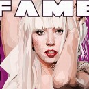 "Gaga Invades the Comic World With ""FAME"""