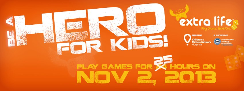 Extra Life: Play Games. Heal Kids