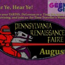 East Coast Geek Girl Meet-Up: Pennsylvania Renaissance Faire