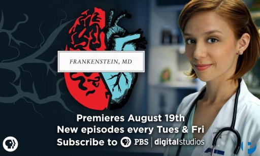"""PBS and Pemberly Digital team up for """"Frankenstein, MD."""""""