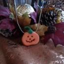 Polymer Clay Jack O'Lanterns