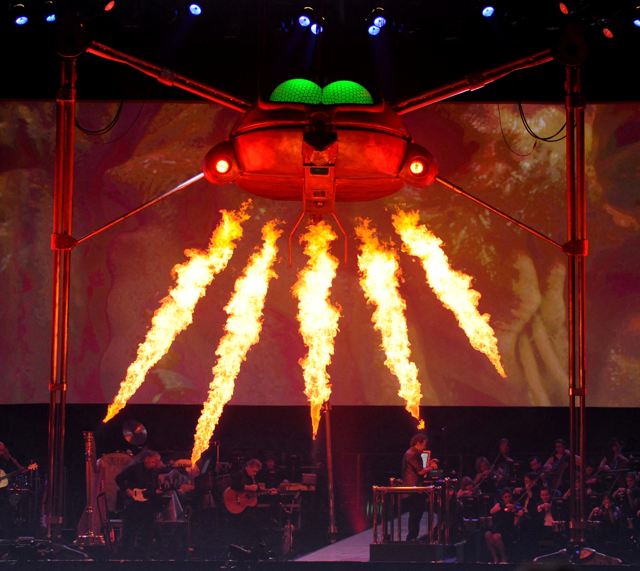 Review Jeff Wayne S War Of The Worlds In Concert The