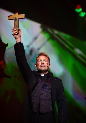 Jason Donovan as The Preacher