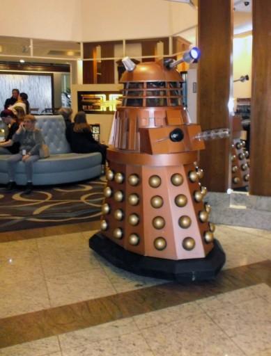 Dalek in the Foyer