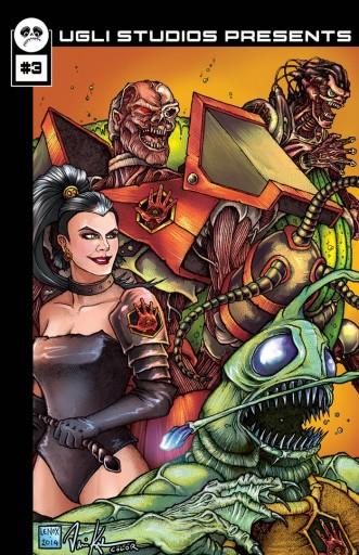 Ugli Studios Presents: #3 Sci-Fi / Horror Comic Anthology