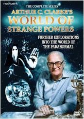 Arthur C Clarke's World of Strange Powers - DVD cover