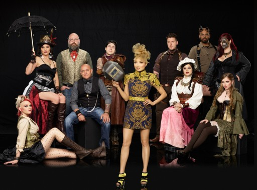 The artists of Steampunk'd (image: GSN)