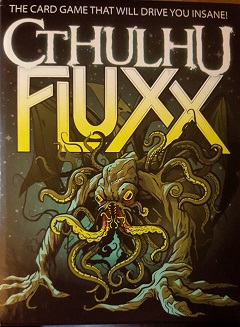 Cthulhu Fluxx is one of my favorite versions of Fluxx! What's yours? (Photo of Looney Labs product was taken and edited by KristaG)