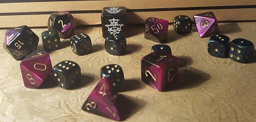 There are so many options for dice and I love the rattling noise they make when inside the eggs!