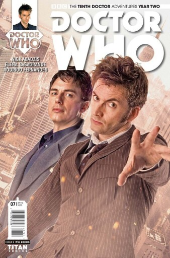 Titan Comics' The Tenth Doctor #2.7 Alternate Cover Image: Titan Comics