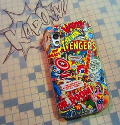 These comic book phone covers leave lots of room for personalization. Not only for comic books, but with actual books as well. Perhaps Harry Potter or Game of Thrones? The possibilities are endless! (Image taken from mmgn.com)