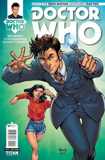 Titan Comics' The Tenth Doctor #2.7 is on sale now! Image: Titan Comics