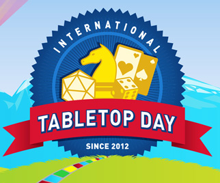 Geek and Sundry's 4th International TableTop Day will be held Saturday, April 30th, 2016! (Image from geekandsundry.com)