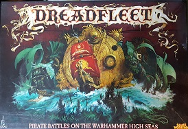 Dreadfleet - a 2-6 player miniatures boardgame