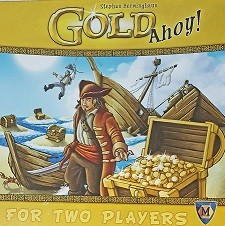 Gold Ahoy! - A 2 player tile laying game.
