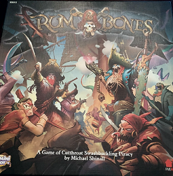 Rum & Bones - A 2-6 Player Miniatures Boardgame