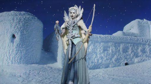 Adam and Logan's Ice Queen (image: SyFy)