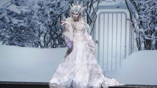 Gage and Rachael's Snow Queen (Image: SyFy)