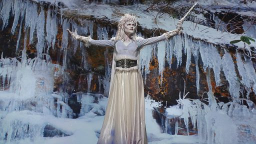 Keaghlan and Melissa's Snow Queen (image: SyFy)