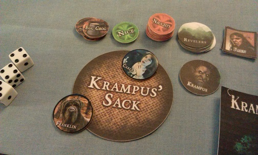 A Touch of Evil Krampus Sack