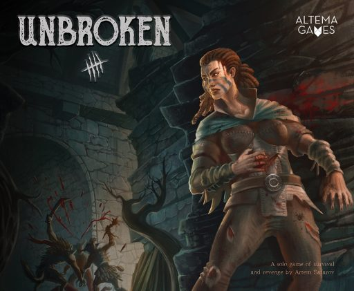 Unbroken is a one-player tabletop game.
