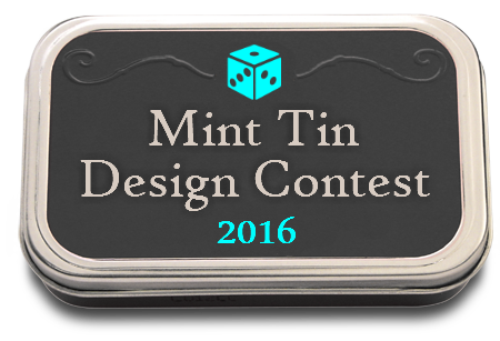 BGG Mint Tin Design Contest 2016 Logo