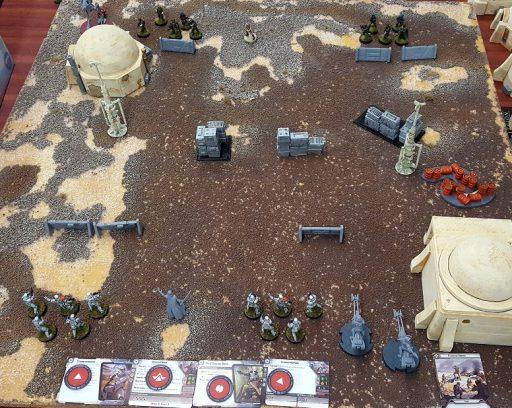 Legion Basic Set Up