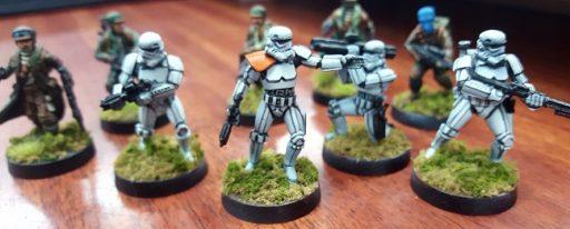 Painted Legion Minis