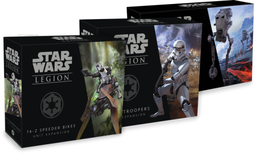 Star Wars Legion Expansion Boxes
