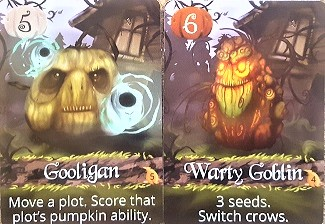 Gooligan and Warty Goblin Pumpkins