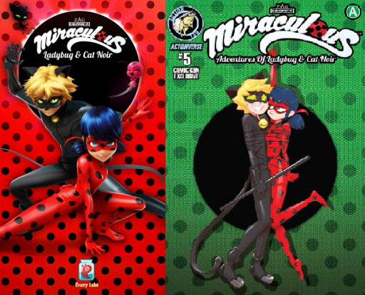 Miraculous App and Comic Book