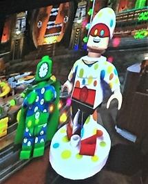 DC Villains Lego Clock King and Mister Polka Dot