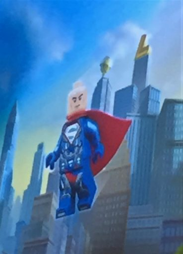 DC Villains Lego Lex Luthor Superman Suit