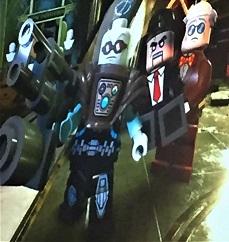 DC Villains Lego Mister Freeze & Ventriloquist