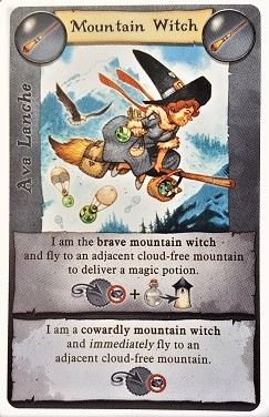 Broom Service Mountain Witch