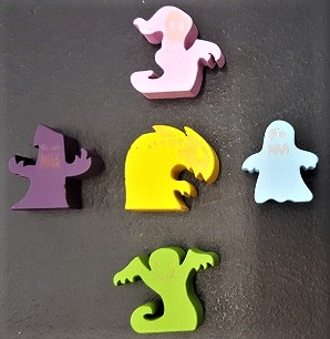 Haunt the House Meeples